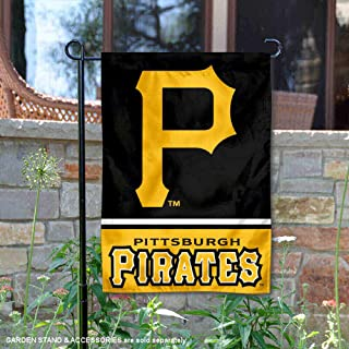 WinCraft Pittsburgh Pirates Double Sided Garden Flag