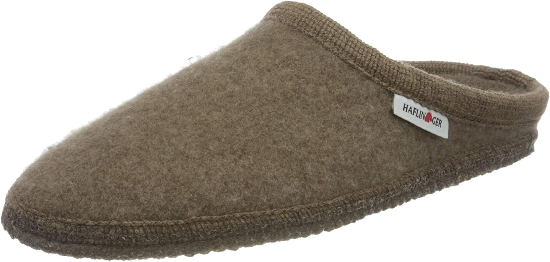 HAFLINGER Women's Slippers Mule Öko 8 us online shopping Long Beach Mall Beigemeliert