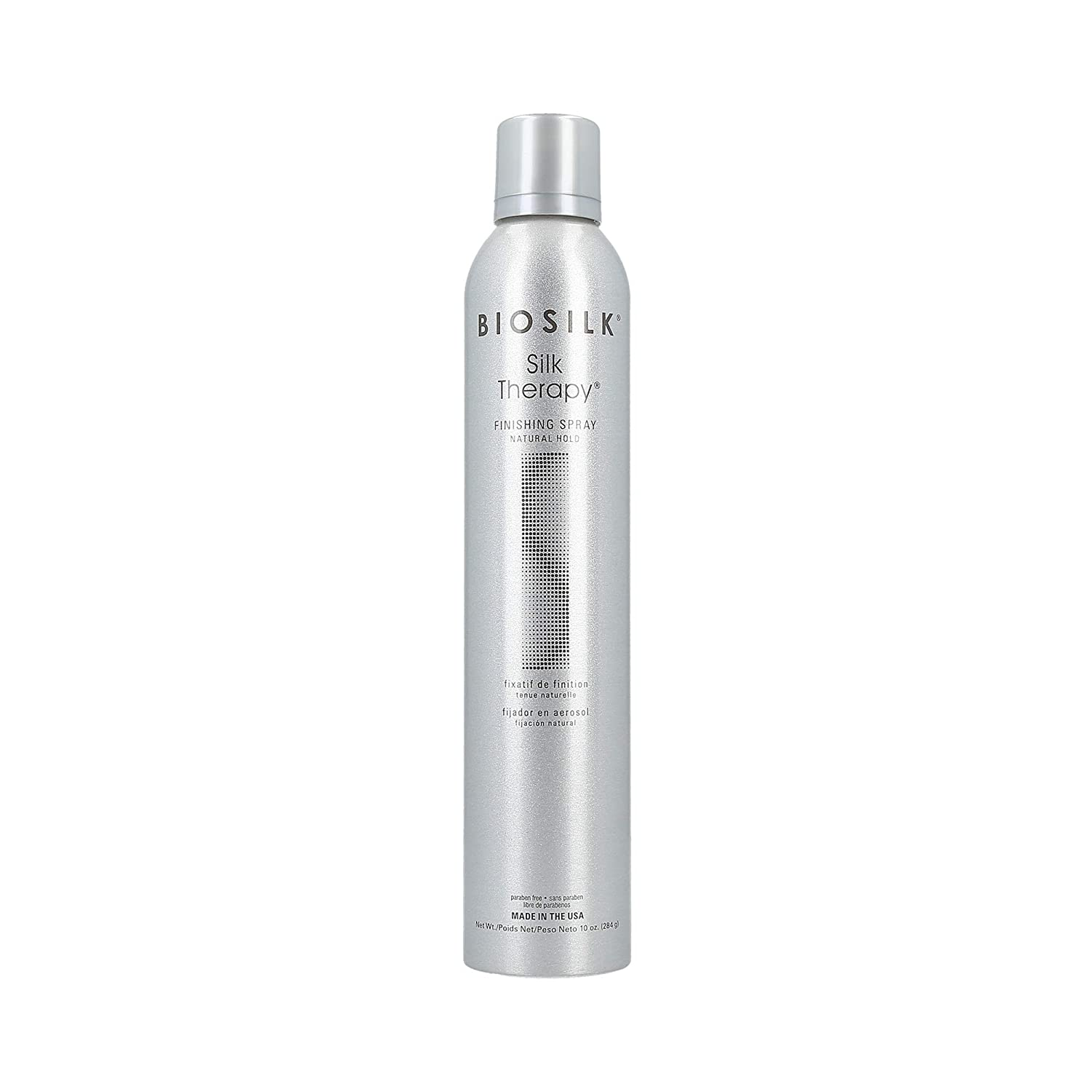 Biosilk Silk Therapy Natural Hold Hair unisex Spray Finishing Unise for Sales of SALE items from new works