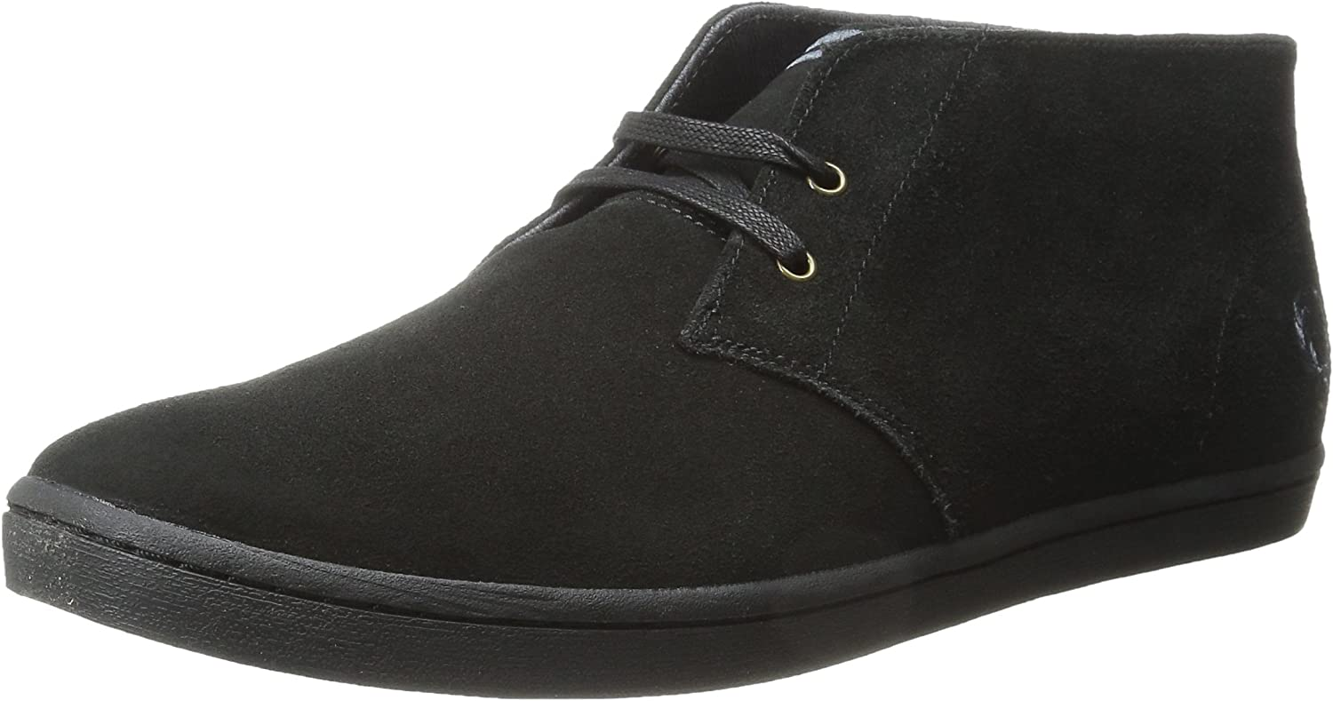 Fred Perry Men's Byron Mid Suede Chukka Boot