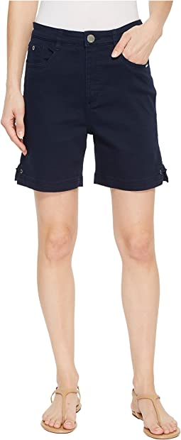 Sunset Hues Suzanne Shorts in Navy