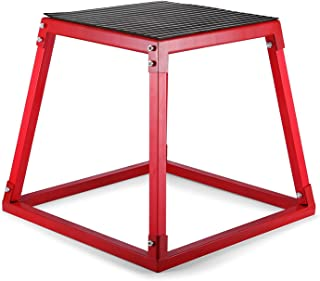 Buoqua Plyo Box mjuk plyome elektrisk halkfri plattform bärbar hopphopphopphoppning 30 cm 45 cm 61 cm låda för hoppträning