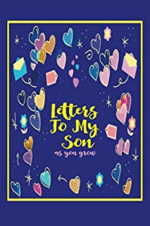 Letters to My Son as You grow: a lined notebook Journal from Mom   dad on his wedding day