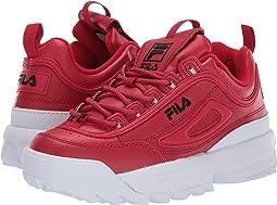 72175b90bcb Fila Red Black White