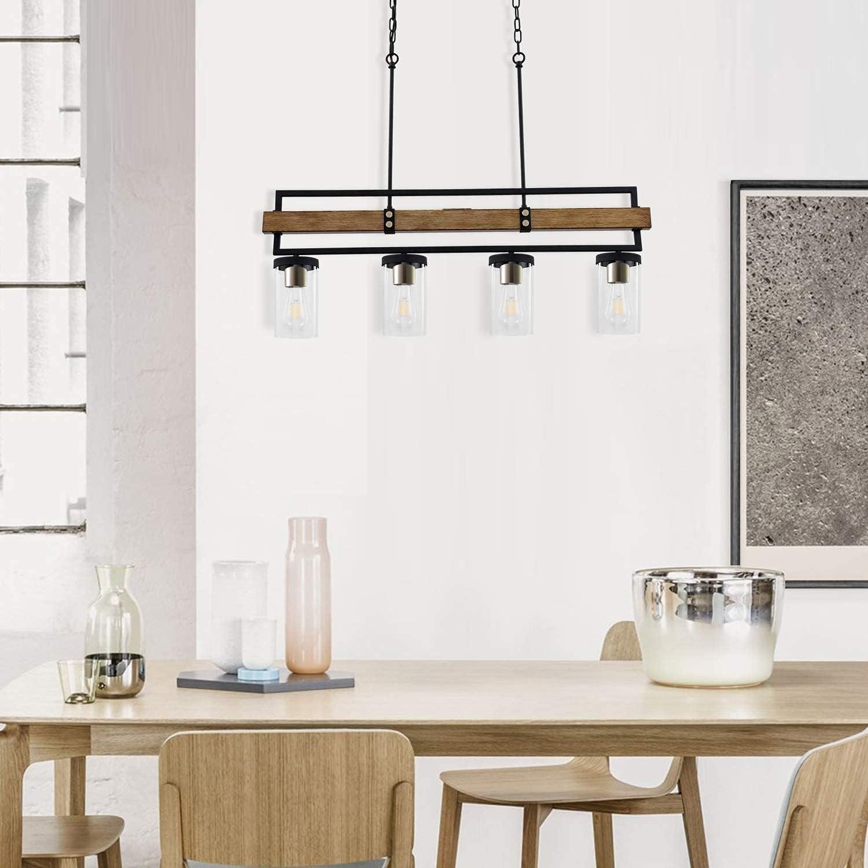 Buy ALAISLYC 9 Light Kitchen Island Lighting Fixtures,9 L ...