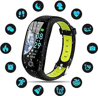 DOOK Pulsera de Actividad Inteligente, IP68 Impermeable Reloj Inteligente con Pulsómetro Podómetro Calorias Monitor de Sueño, Pulsera Actividad Smartwatch para Mujer Hombre Niños
