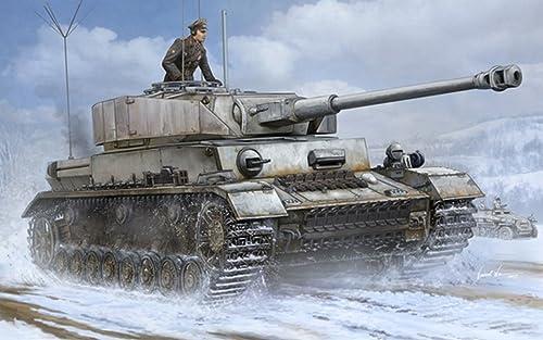 Trumpeter TP0922 voitureRO Gerhomme PZ.BEOB.WG.IV AUSF.J Medium Tank KIT 1 16 Model Compatible avec