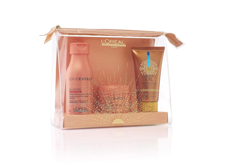 Travel Set Shampoo 188 ml + Masque 188 ml + Mythic Oil Crème Universelle 188  ml 18 Stk.