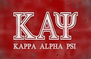 BrotherhoodProducts Greek Life Kappa Alpha Psi Fraternity 11x17 Poster