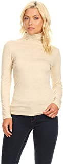 Women's Solid Basic Lightweight Dolman Sleeve Soft Knit Loose Fit Casual Tunic Tee Shirt