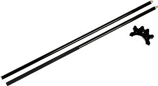 Iszy Billiards Puente de Billar de Fibra de Vidrio (2 Unidades, 145 cm), Color Negro