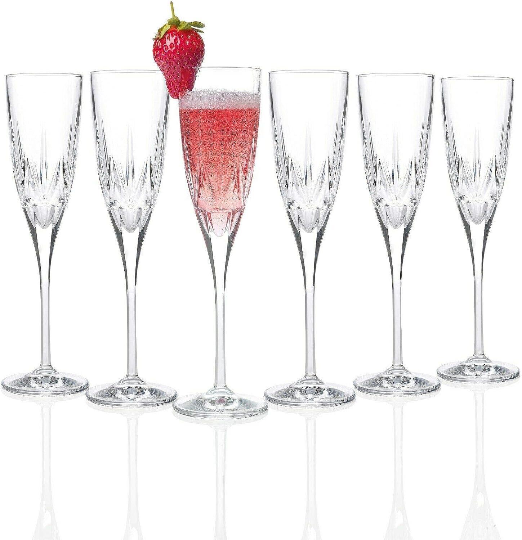 RCR Boys' 26232020006 Chic Luxion Flutes 倉庫 Champagne 大特価!! Crystal Set