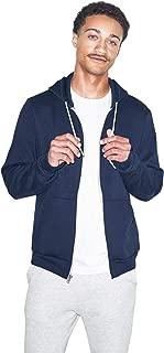 American Apparel  Unisex Flex Fleece Zip Hoodie, Navy, Large