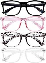 Blue Light Blocking Glasses for Women/Men/FEIDU 4-Pack Computer Gaming Glasses…