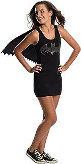 DC Superheroes Batgirl Teen Rhinestone Tank Dress With Removable Cape