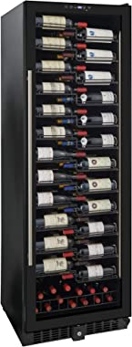 Wine Enthusiast VinoView 155-Bottle Wine Cellar – Freestanding or Built-In Wine Refrigerator