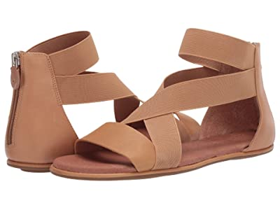 Gentle Souls by Kenneth Cole Break Elastic Sandal (Tan Leather) Women