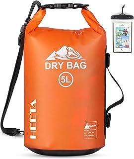 HEETA Waterproof Dry Bag for Women Men, 5L/ 10L/ 20L Roll Top Lightweight Dry Storage Bag...