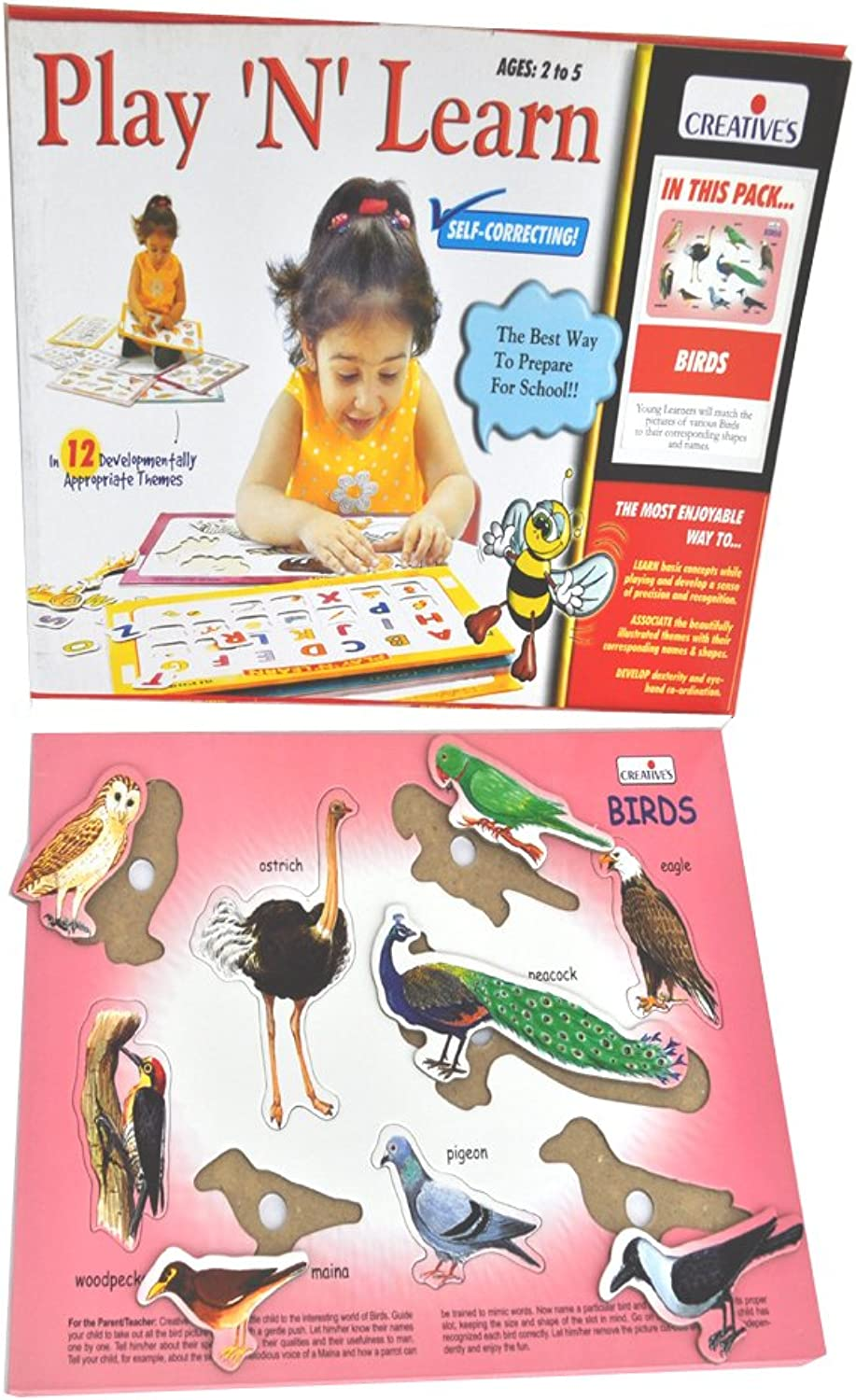 Creative Early Years - Play and Learn - Birds (CRE0602) (CRE0602) (CRE0602) B00930ZD0K | Ausgezeichnet  e4750c