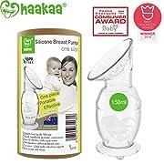 Haakaa Manual Breast Pump with Base 5oz/150ml