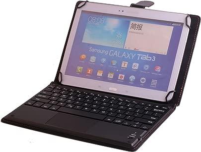 J amp H Universal-Leder-Schutzh lle f r Samsung Galaxy Tab 10 1 2016 mit Tastatur aus Kunstleder mit Bluetooth-Tastatur Touchpad Maus f r Samsung Galaxy Tab 10 1 2016 Schätzpreis : 38,23 €