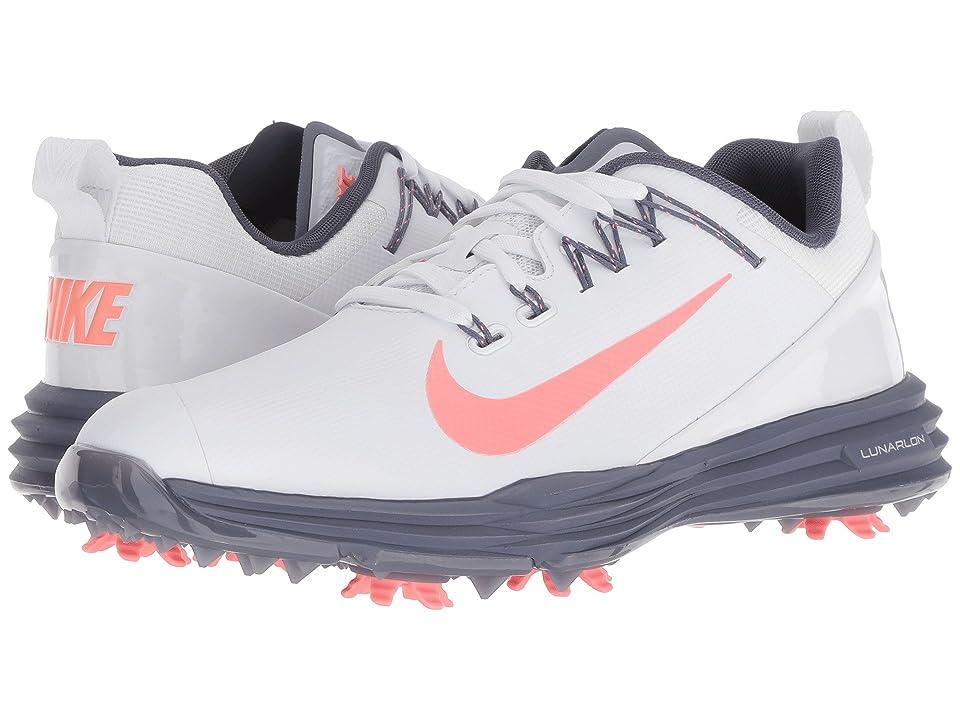Nike Golf Lunar Command 2 (White/Light Atomic Pink/Light Carbon) Women