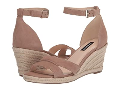 Nine West Jabrina Wedge Sandal (Light Natural) Women