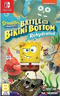 THQ Nordic Spongebob Squarepants: Battle for Bikini Bottom - Rehydrated - Nintendo Switch