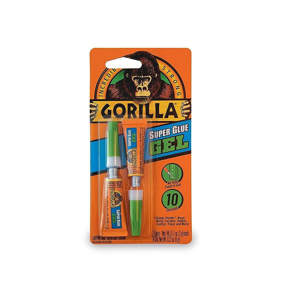 タヒチ無一文自動化Gorilla スーパーグルーゲル 3グラムチューブ2個 クリア 2 Pack 7820001-2 1