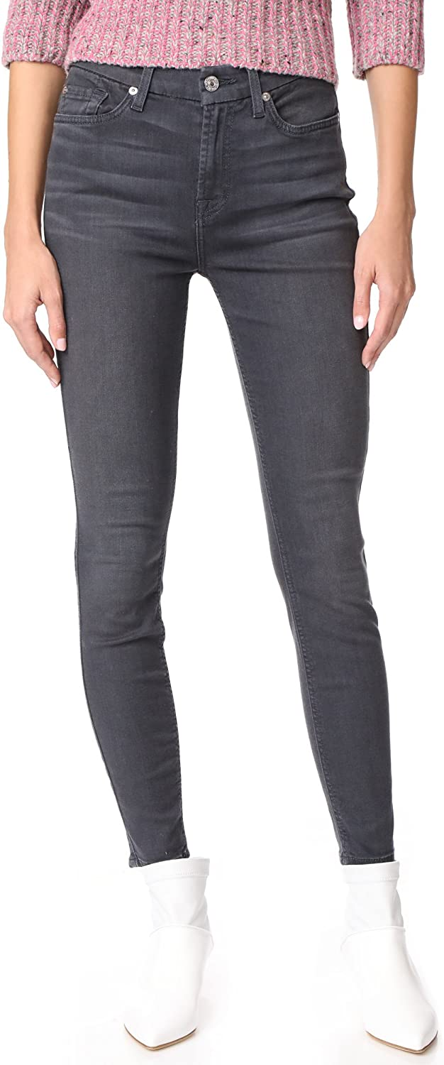 7 For All Mankind Women's The B(air) HW Ankle Skinny