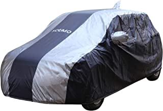 Amazon Brand - Solimo Maruti Swift Water Resistant Car Cover (Dark Blue & Silver)