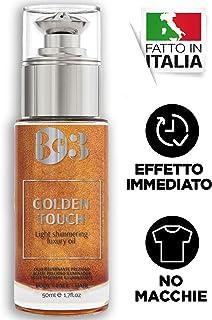 BE3 Shimmering Oil   Golden Touch Aceite Corporal Iluminador   Aceite Brillante Hidratante Brillo bronceador para rostro...