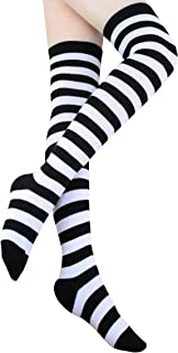 Women's Extra Long Over Knee Thigh High Stockings Sock W006