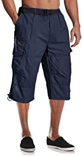 Men's Cargo Shorts with 7 Pockets Twill Cotton Tactical...