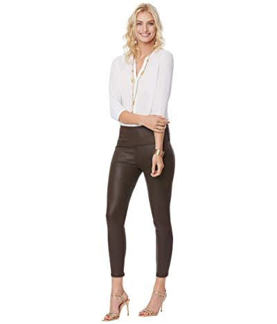 NYDJ Coated Leggings (Espresso) Women