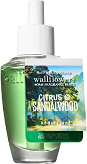 Bath and Body Works Citrus Sandalwood Wallflowers Home Fragrance Refill 0.8 Fluid Ounce