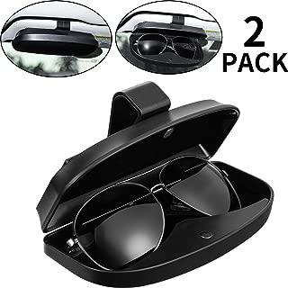Nero Auricolare Chiave Lente Supporto Perno per Occhiali da Sole Cuffie Cavi ID Distintivo 2 Pezzi Magnetico Occhiali Occhiali da Sole Occhiali Clip LuMon Magnetico Occhiali da Vista Supporto
