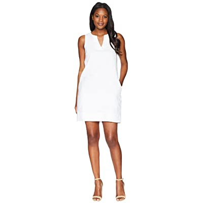 Tommy Bahama Seaglass Linen Shift Dress (White) Women