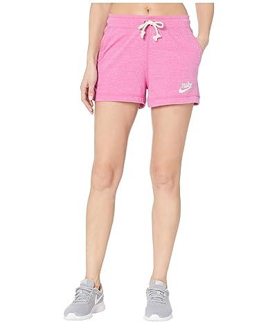 Nike NSW Gym Vintage Shorts (Cosmic Fuchsia/Sail) Women