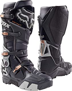 Fox Racing Instinct Men's Off-Road Motorcycle Boots - Charcoal/Size 8