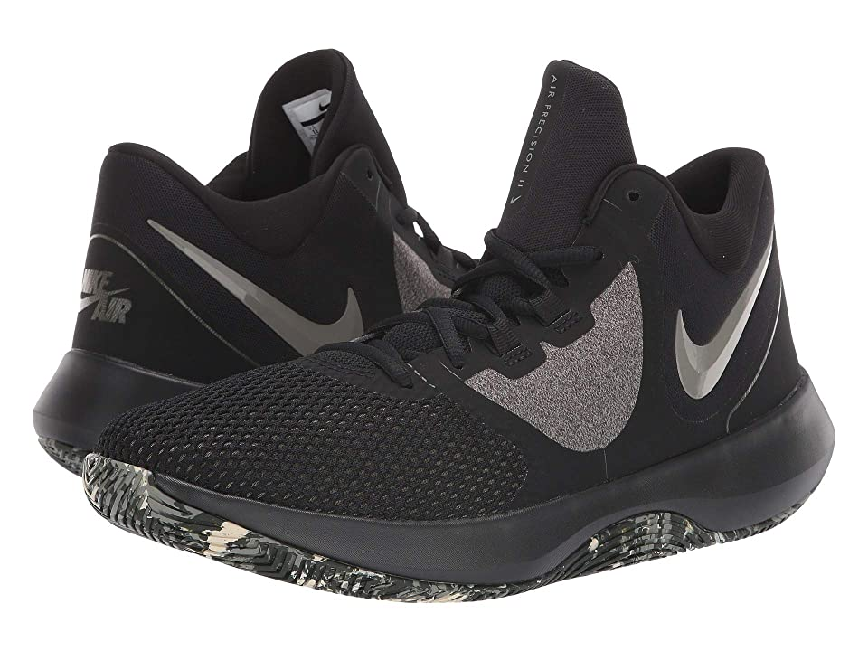 Nike Air Precision II (Black/Dark Stucco/Cargo Khaki/Sequoia) Men