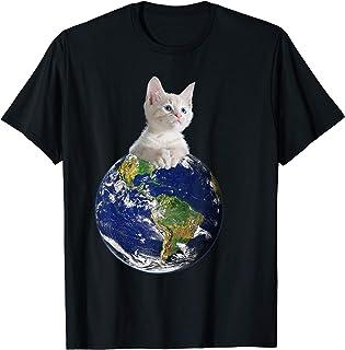 Space Kitten Ruler of Earth T-Shirt