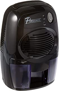 Pursonic DHM200 Mini-Capacity Electric Compact Dehumidifier, Small (Renewed)