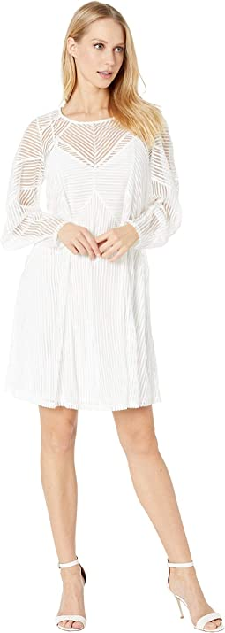 Crew Neck Knit Cocktail Dress