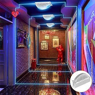 Cinoton LED 10W Window Light Garage Door Frame Lighting LED Wall Washer Light (Red)