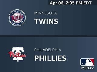 Minnesota Twins at Philadelphia Phillies