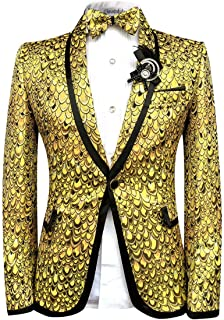 Amazon.es: Amarillo - Blazers / Trajes y blazers: Ropa
