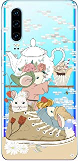 Oihxse Funda Dibujos Animal Lindo Compatible Huawei Honor 8C Carcasa Transparente Clear Silicona TPU Gel Suave Case Ultra ...