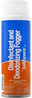 SafeSpace Disinfectant & Deodorizing Germ Fogger - Case of 6 Cans (Clean Scent)