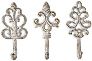 Shabby Chic Cast Iron Decorative Wall Hooks – Rustic – Antique – French..